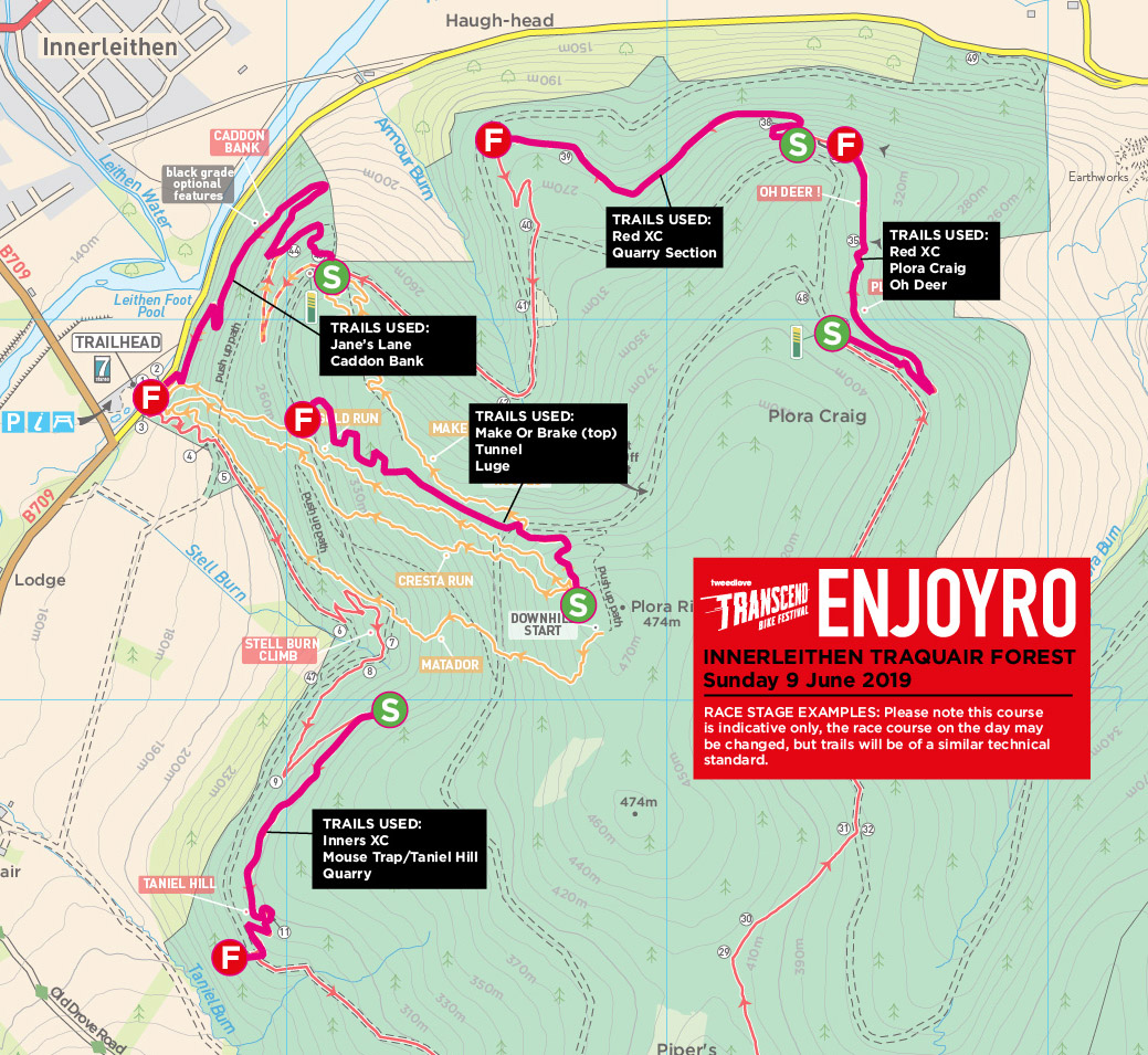Enjoyro 2019 Map