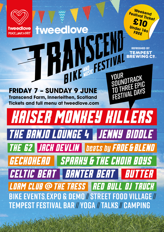 Transcend Full Line Up